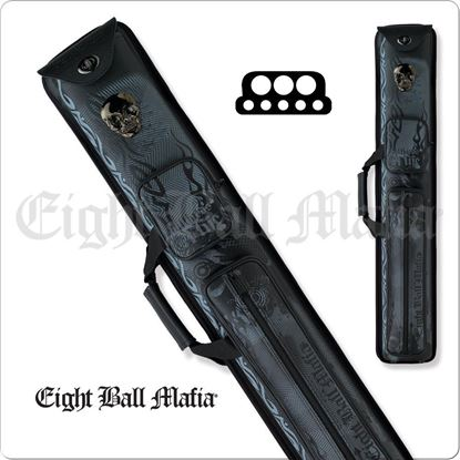 Picture of Eight Ball Mafia EBMCNA 3x5 Hard Cue Case