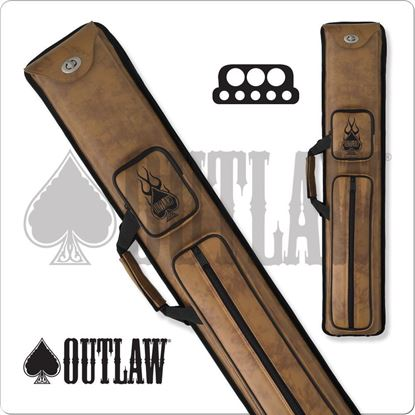 Picture of OUTLAW OLH35 3X5 HARD CUE CASE